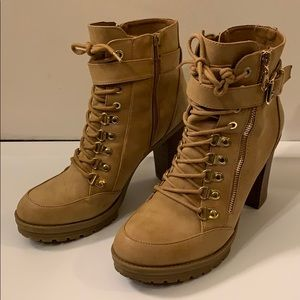 High Heels Short Boots by Guess.